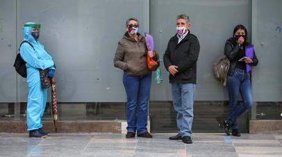 Число случаев заболевания коронавирусом в Колумбии превысило 306 тысяч