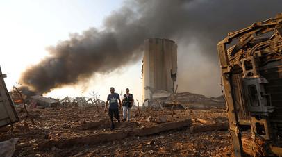 «Больше нет мест в больницах»: в Бейруте прогремел мощный взрыв