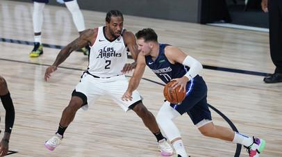 «Даллас» сравнял счёл в серии плей-офф НБА с «Клипперс», Дончич набрал 43 очка