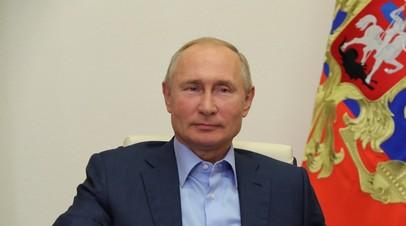 Путин поздравил Ёсихидэ Сугу с избранием на пост премьера