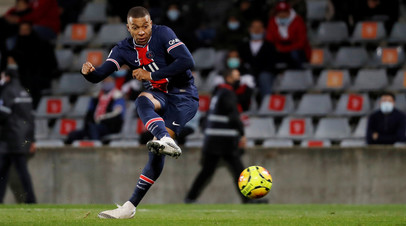 Дубль Мбаппе помог ПСЖ разгромить «Ним» в матче Лиги 1