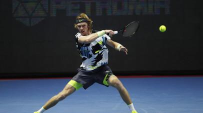 Медведев считает, что Рублёву по силам победить на St. Petersburg Open