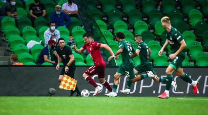 СМИ: «Рубин» подал протест на судейство матча с «Краснодаром»