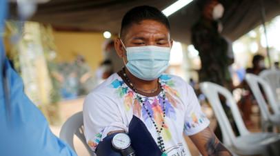 Число случаев коронавируса в Бразилии достигло 5 911 758