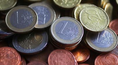 Курс евро опустился ниже 85,75 рубля