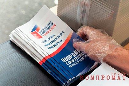 Раскрыты данные экзитполов на голосовании по поправкам к Конституции