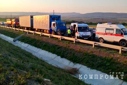 Задержан организатор перевозки попавшего в ДТП микроавтобуса в Крыму