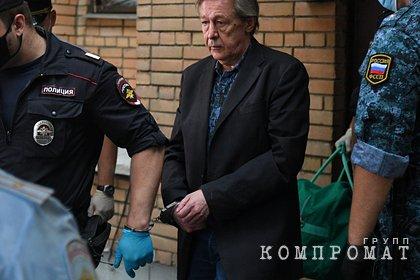Ефремов назвал желаемое место для отбывания наказания