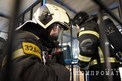 В подмосковном гаражном комплексе произошел взрыв