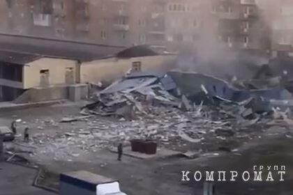 Мощный взрыв прогремел в торговом центре во Владикавказе