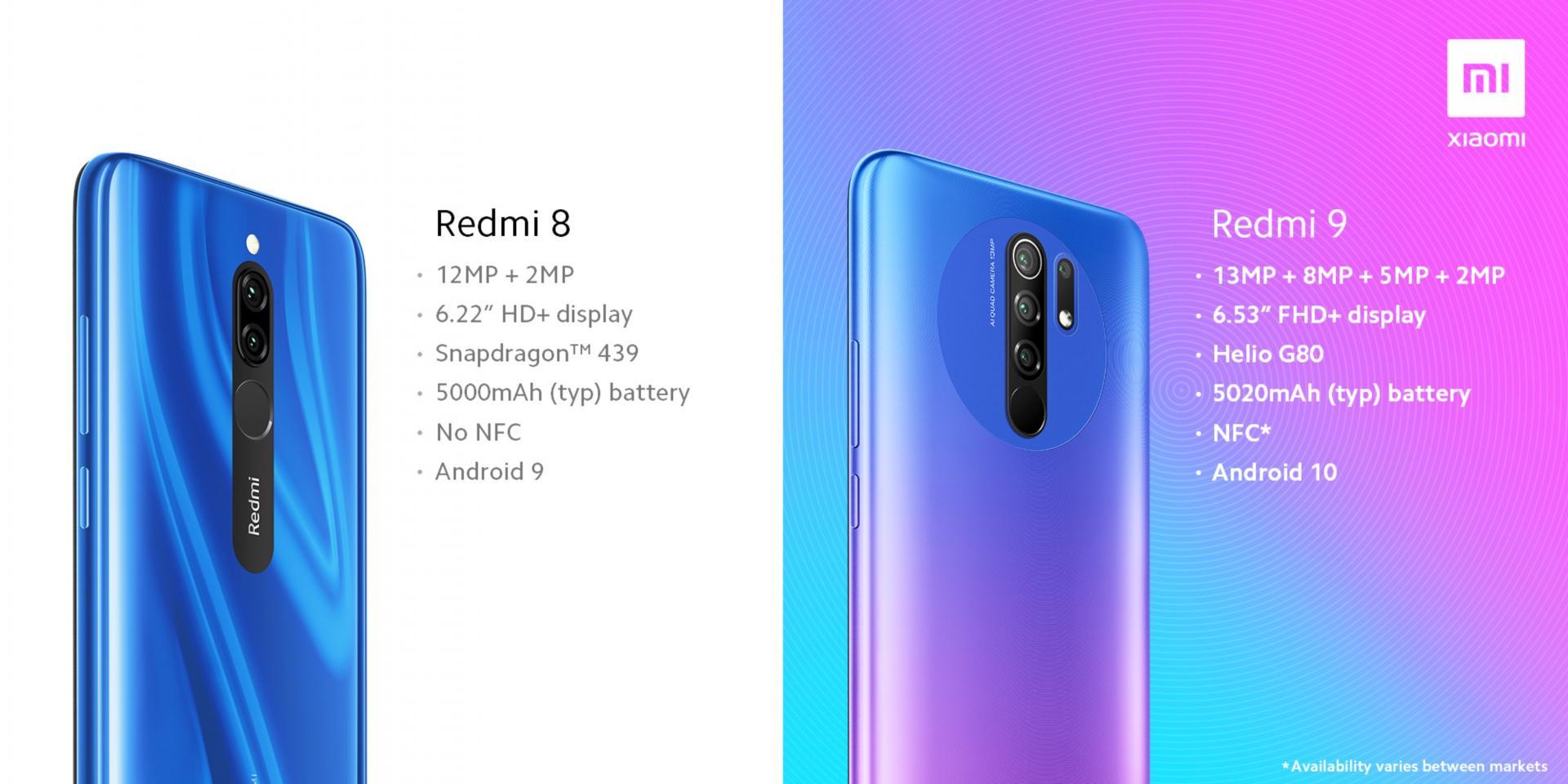 Xiaomi рассказала, чем Redmi 8 отличается от Redmi 9. Несём деньги?