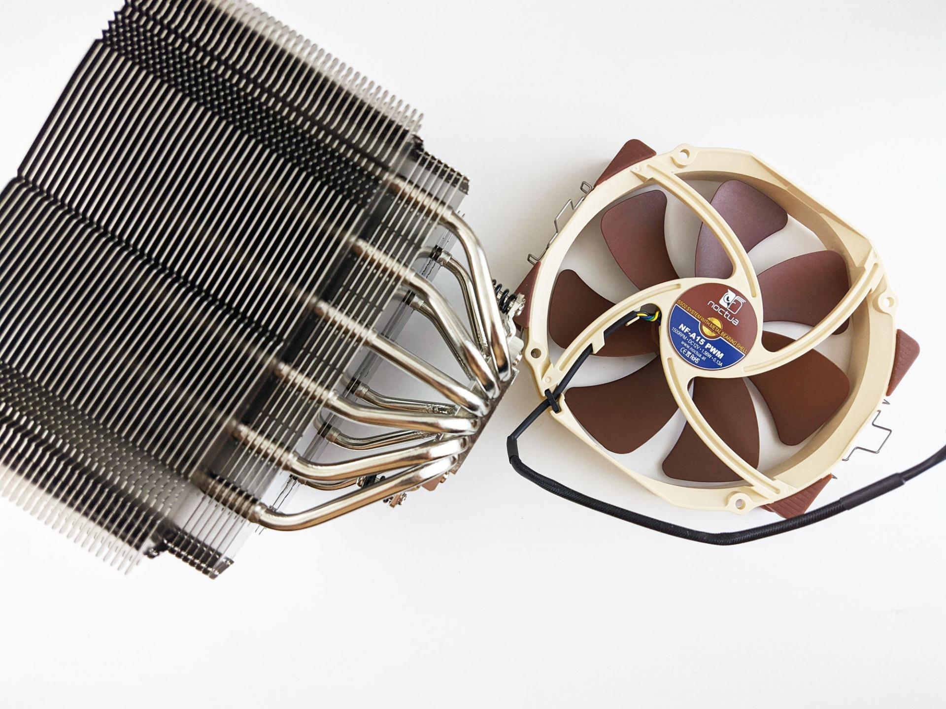 Охлаждаем процессор Intel Core i9-10900 кулером Noctua NH-D15S