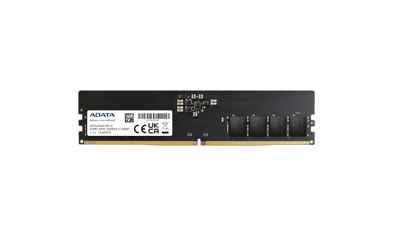 ADATA анонсирует модули памяти DDR5-4800