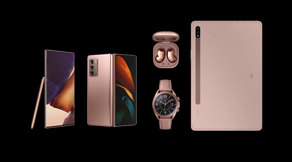 Сколько будут стоить флагманы Samsung Galaxy Note 20, смарт-часы Galaxy Watch 3 и наушники Galaxy Buds Live в Украине