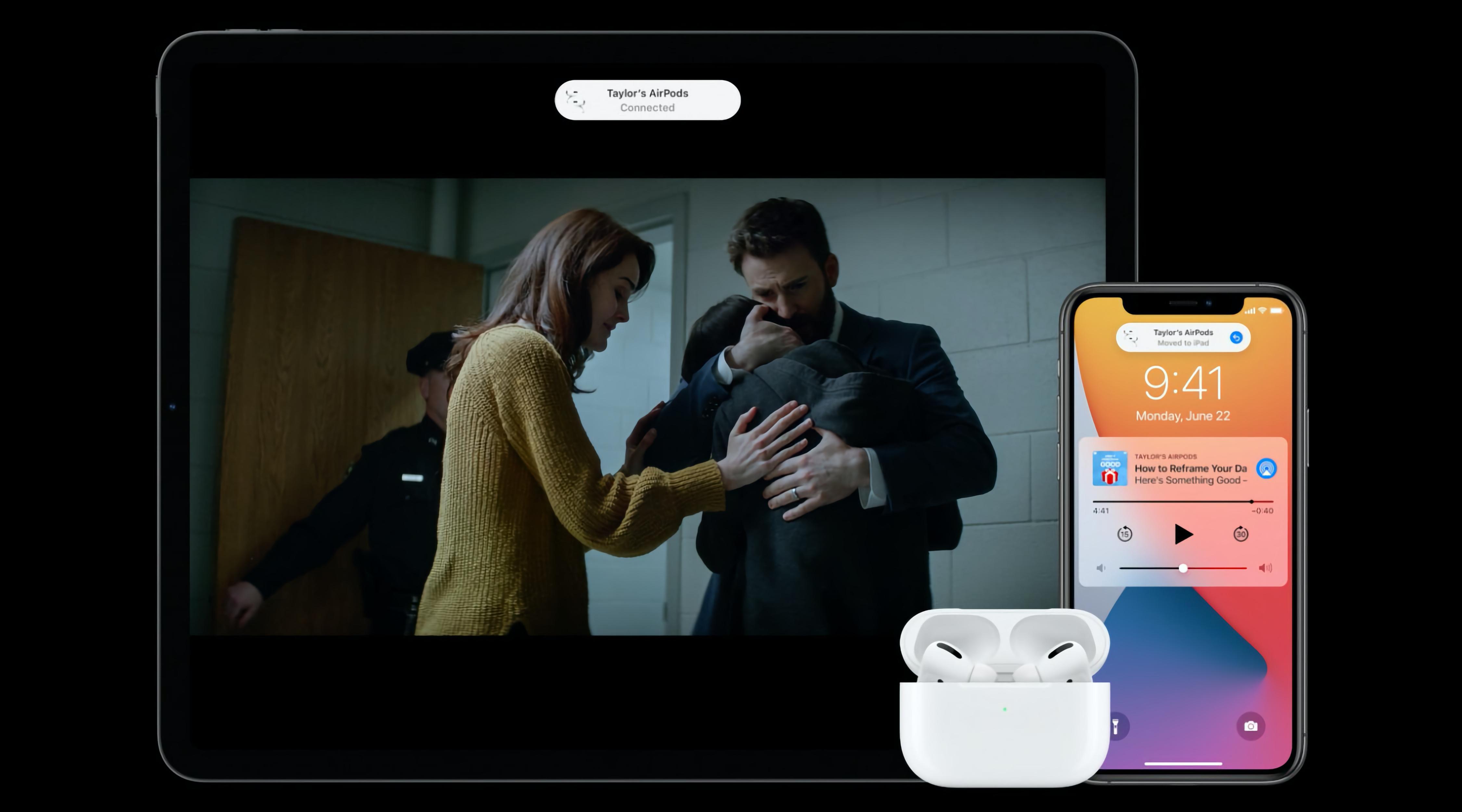 Apple выпустила новое ПО для AirPods и AirPods Pro: быстрое переключение между устройствами и функция Spatial Audio