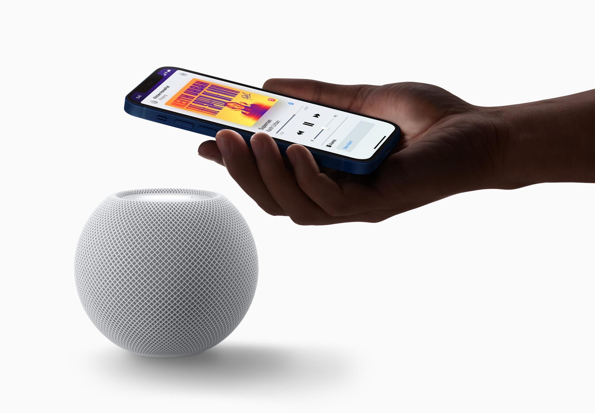 Apple HomePod mini: компактная «умная» колонка с чипом Apple S5 за $99