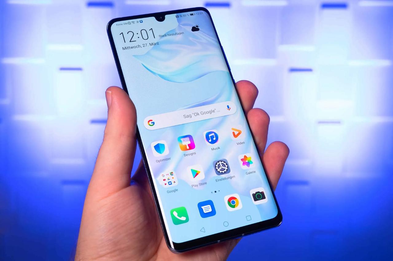 Владельцы смартфонов Huawei P20 Pro и Huawei Mate 10 в Европе начали получать обновление EMUI 10 c Android 10