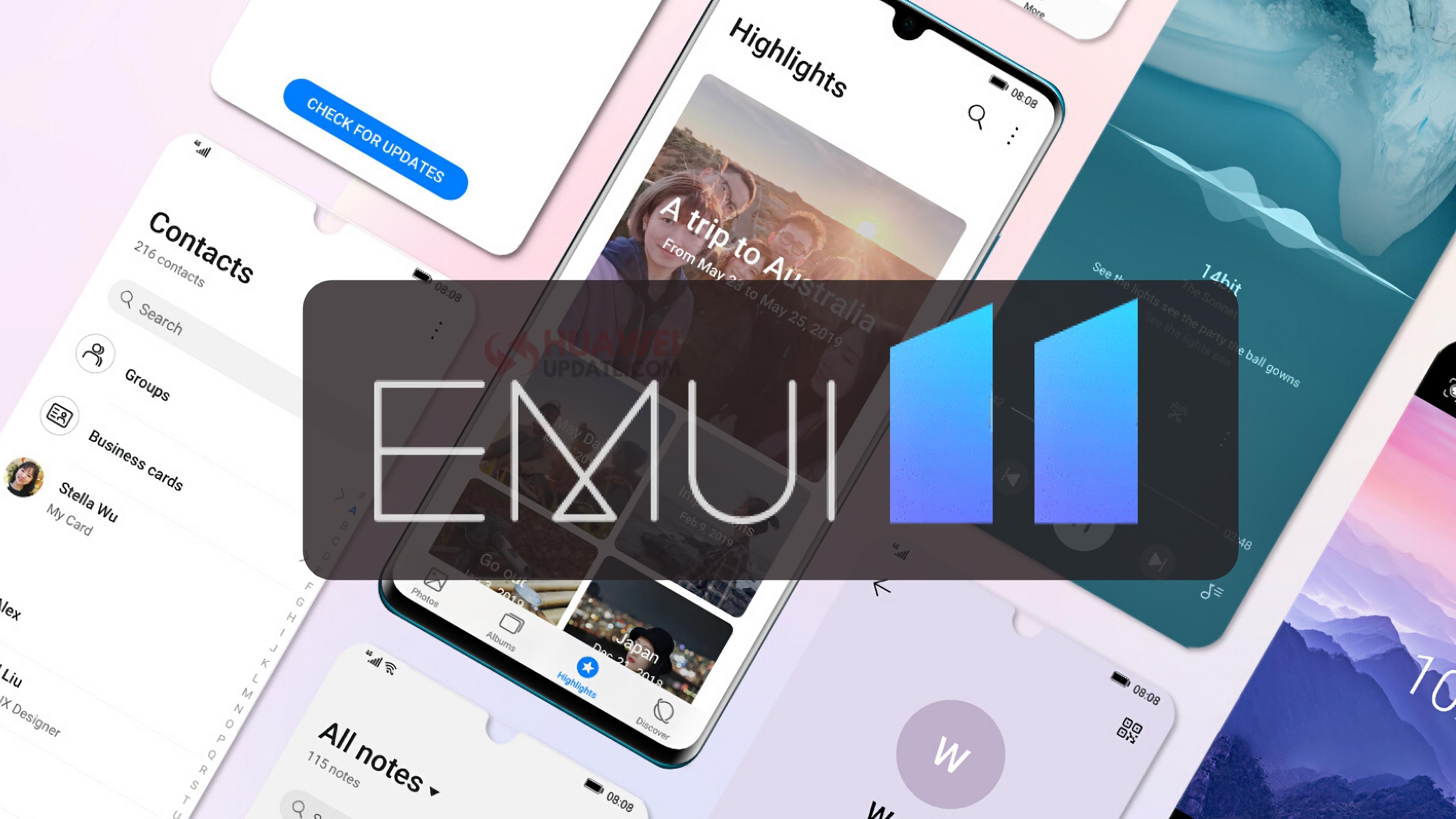Huawei P40, Huawei P40 Pro, Huawei P40 Pro+ и Huawei Mate 40 Pro получили бета-версию EMUI 11 на глобальном рынке