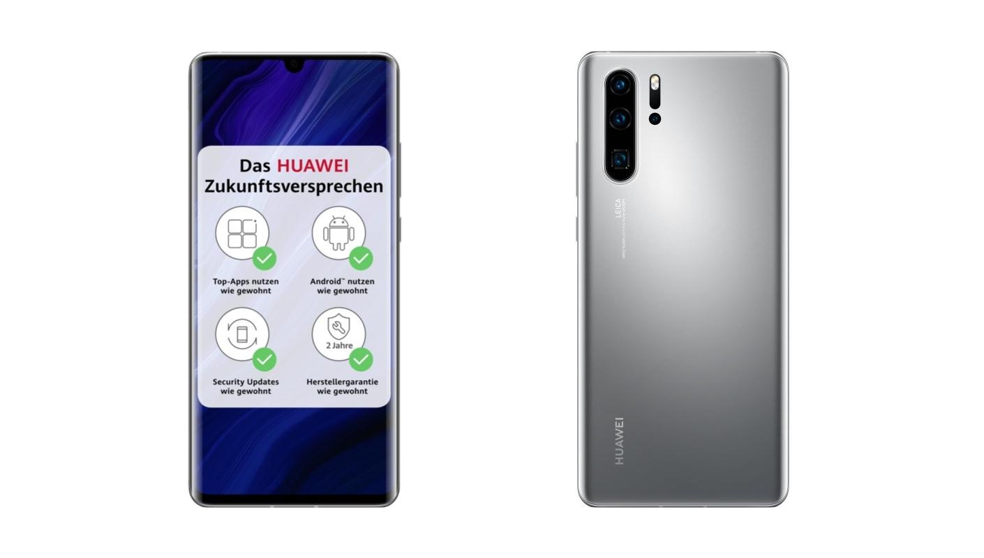 Huawei P30 Pro New Edition: смартфон с сервисами Google, дизайном, как у Huawei P30 Pro, расцветкой, как Huawei P40 Pro и ценником в 750 евро