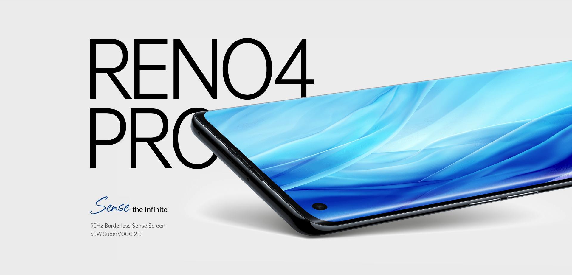 OPPO Reno4 Pro представлен на глобальном рынке: AMOLED-дисплей на 90 Гц, чип Snapdragon 720G, квадро-камера и ценник в $468