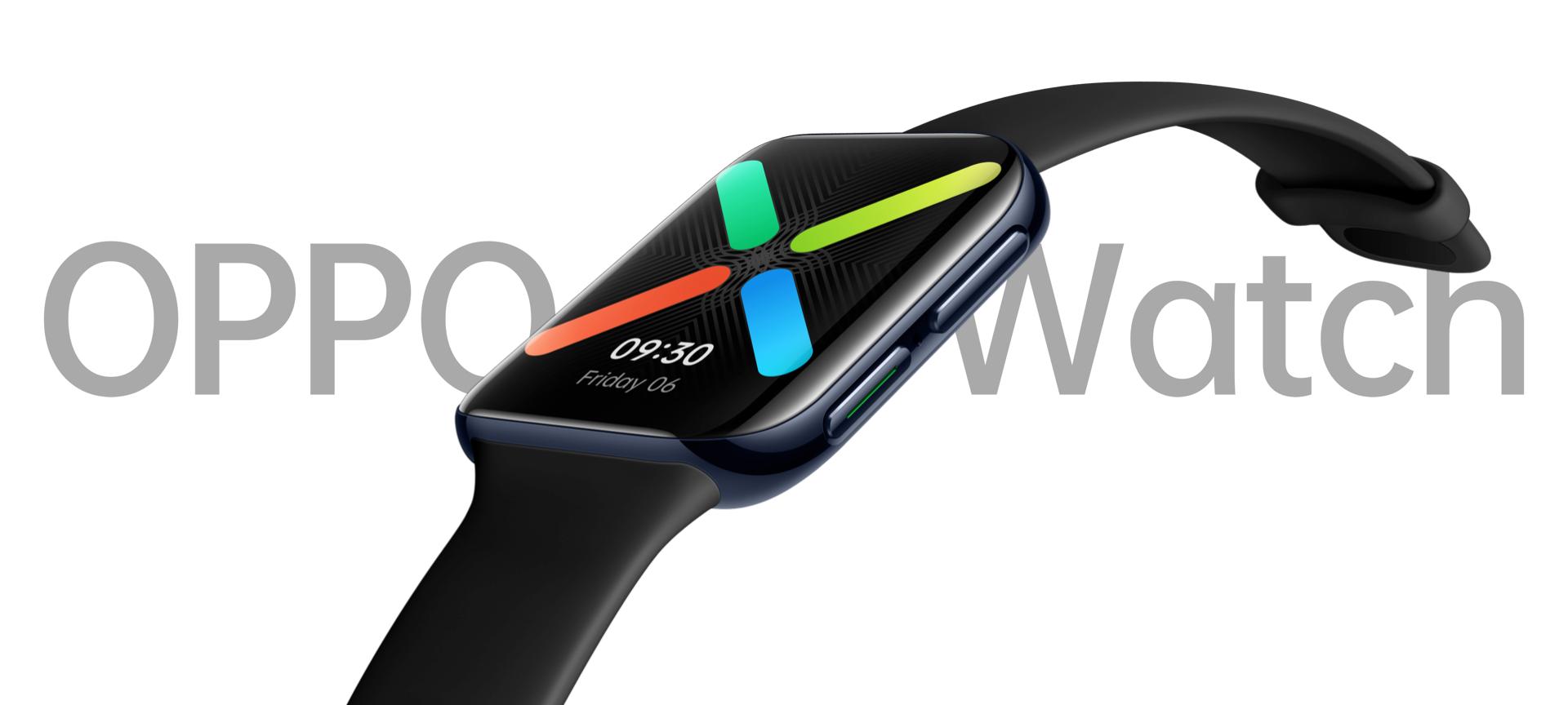 Глобальная версия OPPO Watch: два размера, чип Snapdragon Wear 3100, NFC, автономность до 21 дня, Wear OS и ценник от $200