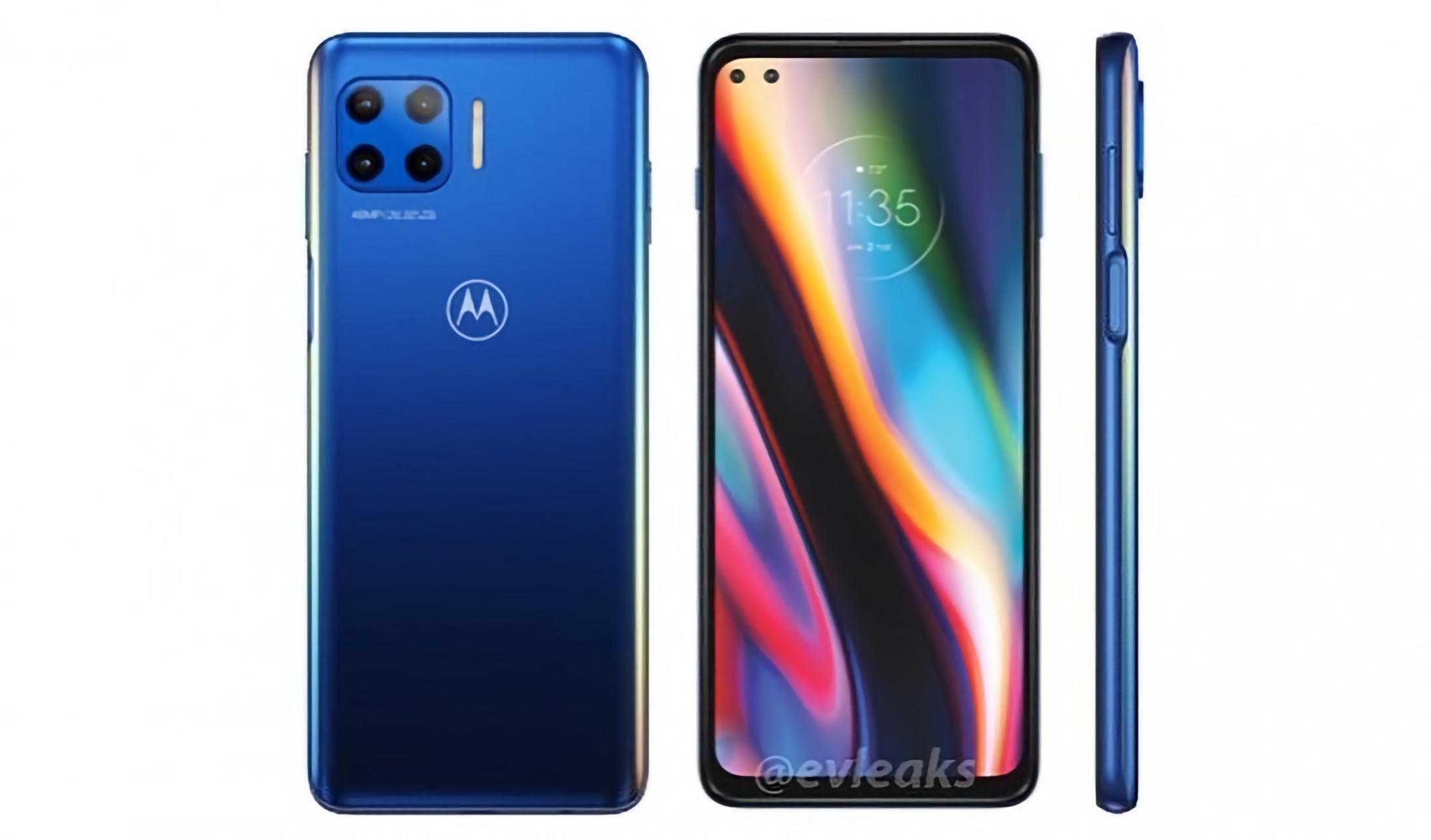 Motorola готовит к выходу новую версию Moto G: квадро-камера, сканер на боковой стороне и поддержка 5G