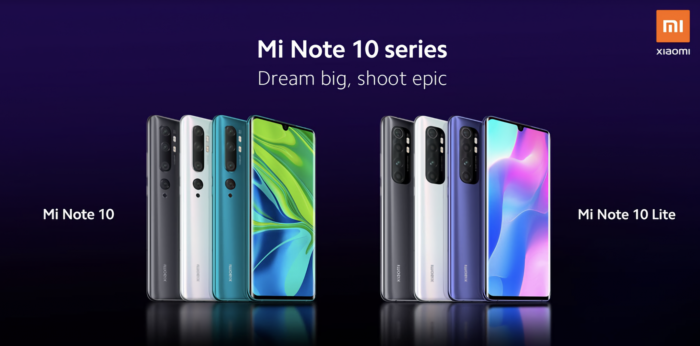 Не только Redmi Note 9 и Redmi Note 9 Pro: Xiaomi 30 апреля представит ещё смартфон Mi Note 10 Lite