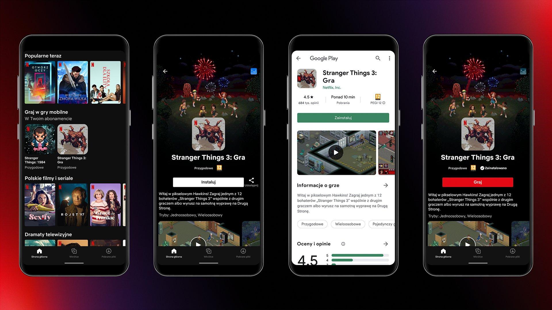 Netflix запустил раздел c мобильными играми, в нём пока доступны две игры по сериалу «Очень странные дела»