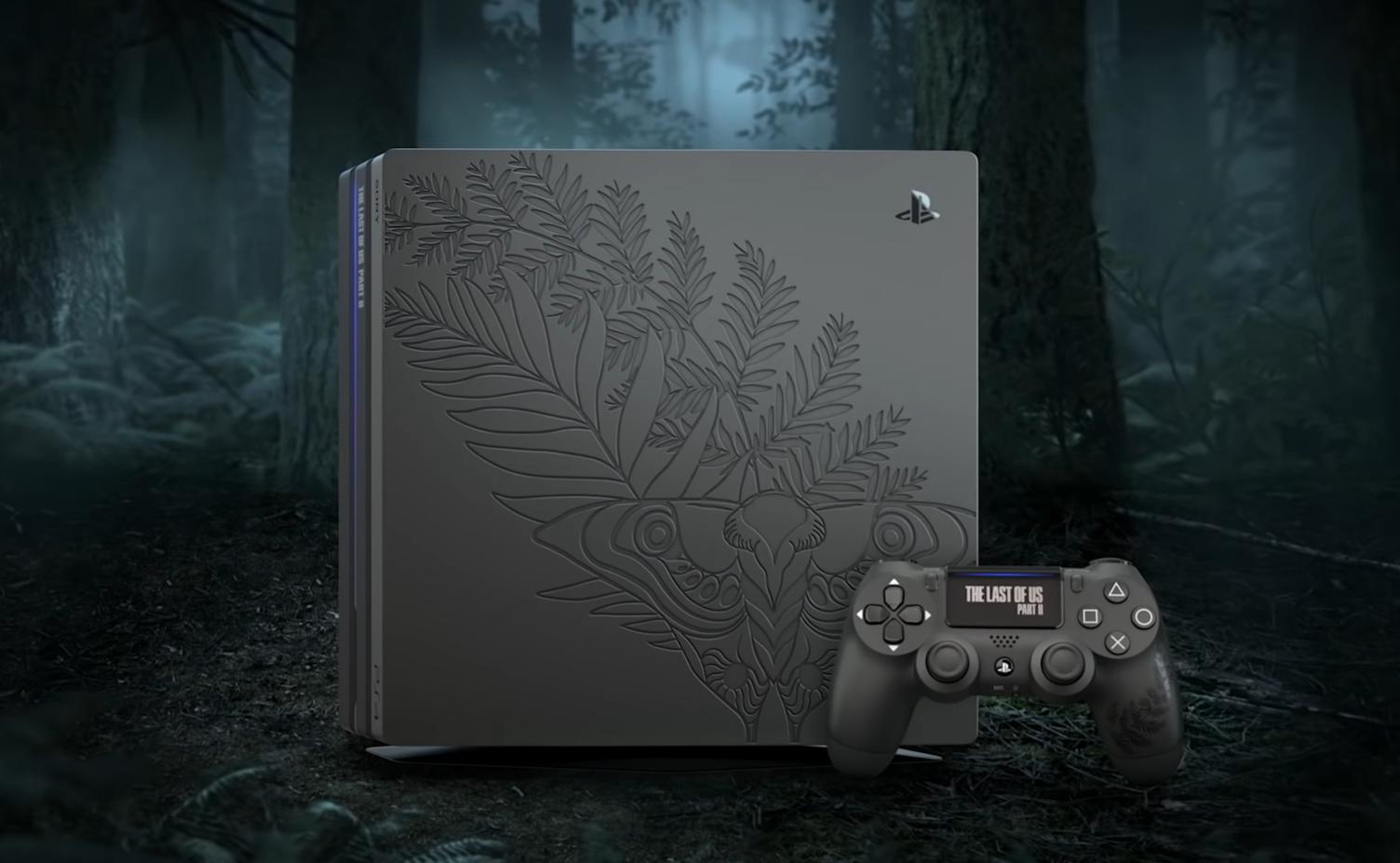 Sony выпустит лимитированную PlayStation 4 Pro в стиле The Last of Us 2 за $400