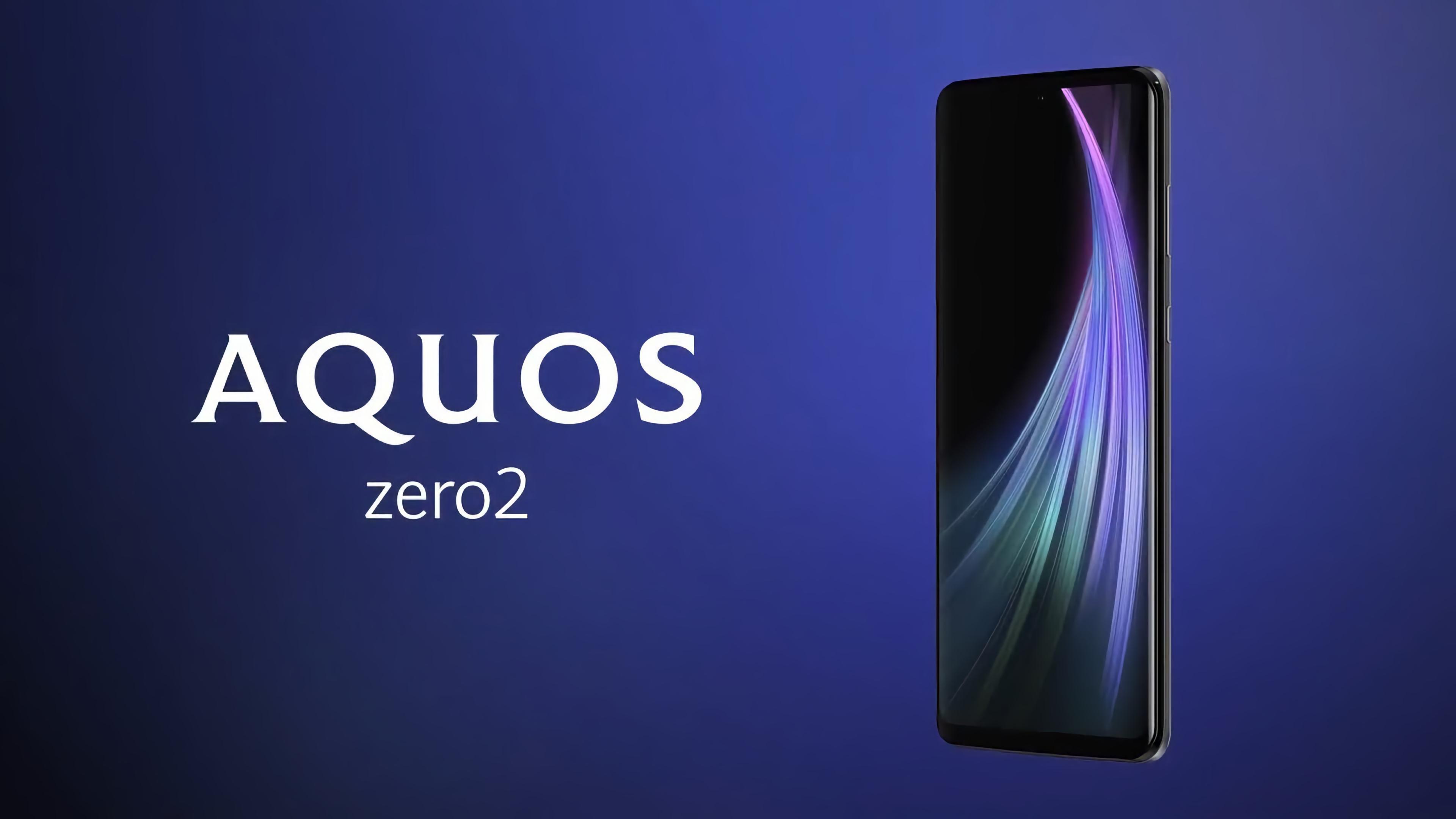 Sharp Aquos Zero 2 с первым в мире мобильным дисплеем на 240 Гц оценили в $732