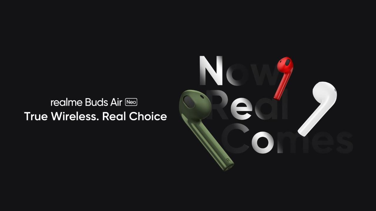 Не только Realme TV и Realme Watch: суббренд OPPO 25 мая представит ещё новые TWS-наушники Realme Buds Air Neo