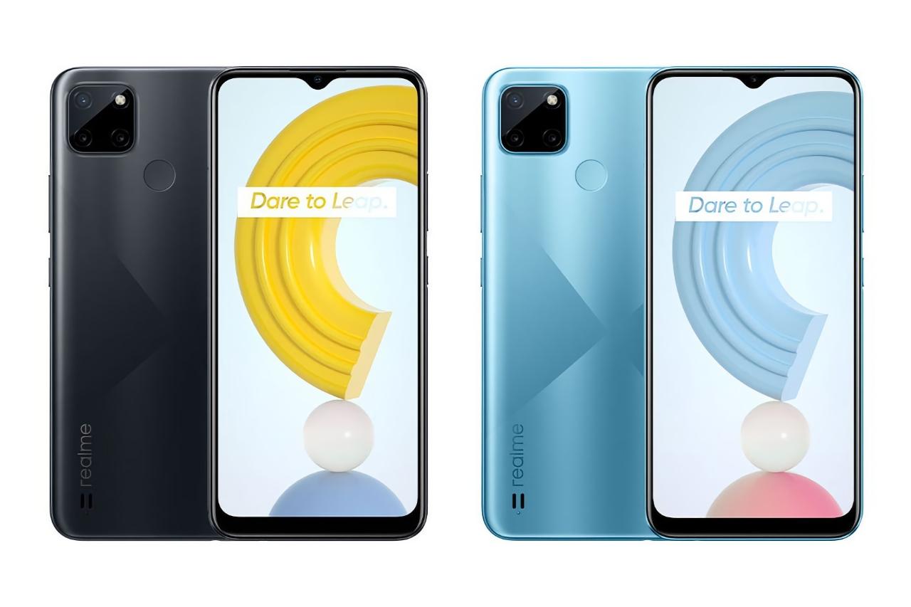 Realme C21Y может стать первым смартфоном компании, который получит ОС Android 11 Go Edition