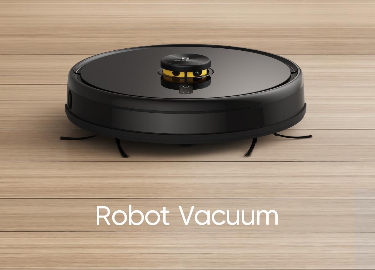 Не только ноутбук и планшет: Realme готовит к выходу свой первый робот-пылесос