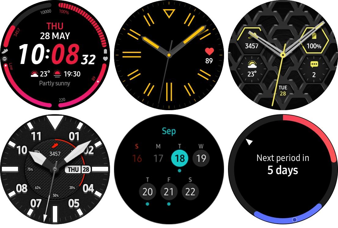 Новые циферблаты смарт-часов Samsung Galaxy Watch 3 и новая дата анонса — уже через неделю