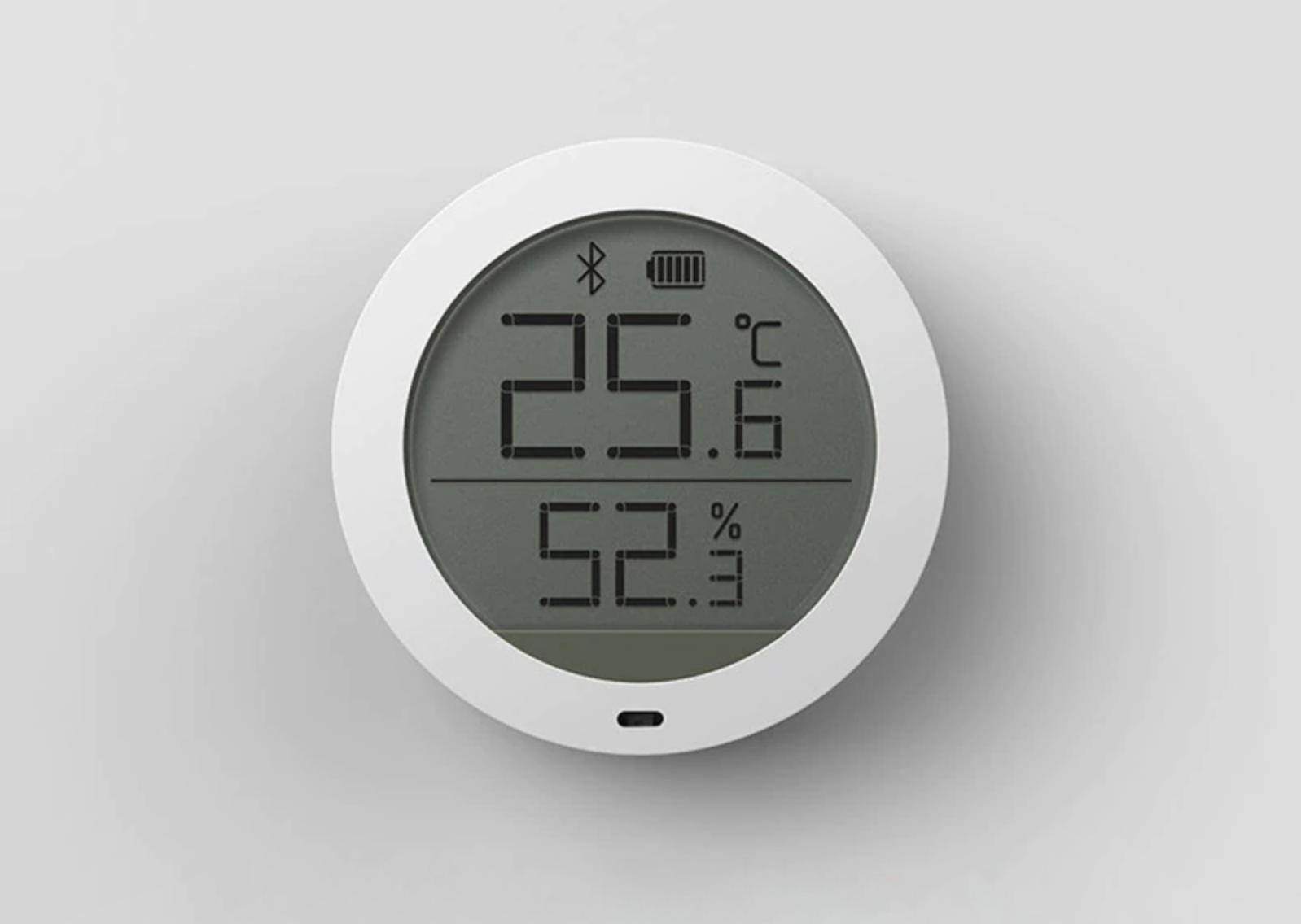 Умный термометр-гигрометр Xiaomi Mi Smart Temperature & Humidity Monitor за $11