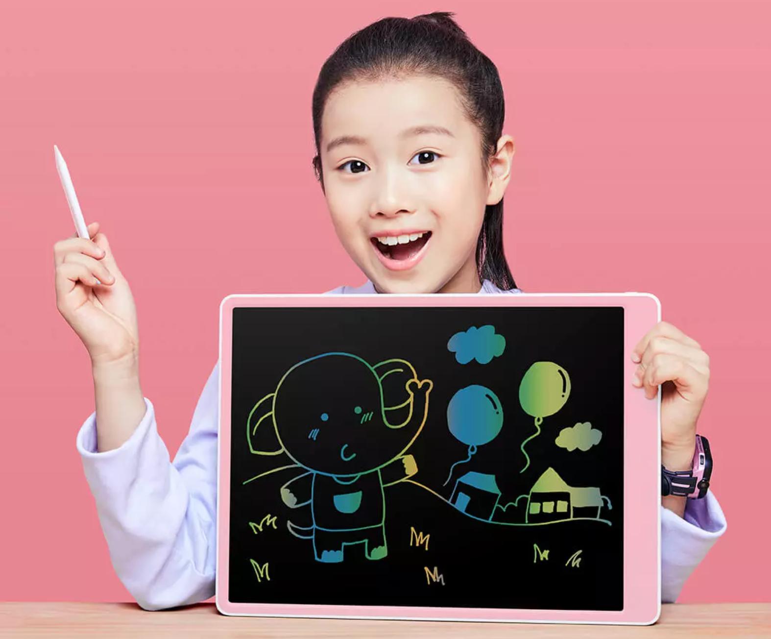 Xiaomi Xiaoxun Color LCD: графический планшет для детей с цветным 16-дюймовым дисплеем, стилусом и ценником в $28