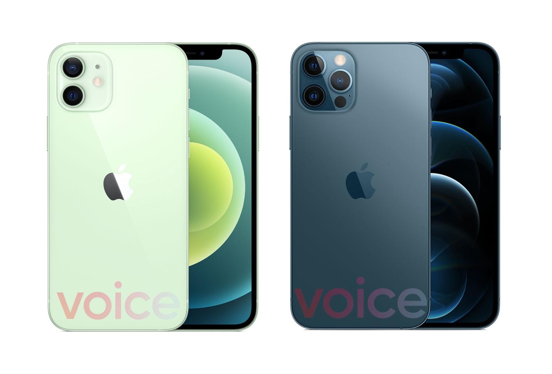 За несколько часов до анонса: в сеть утекли официальные рендеры iPhone 12 mini, iPhone 12, iPhone 12 Pro и iPhone 12 Pro Max