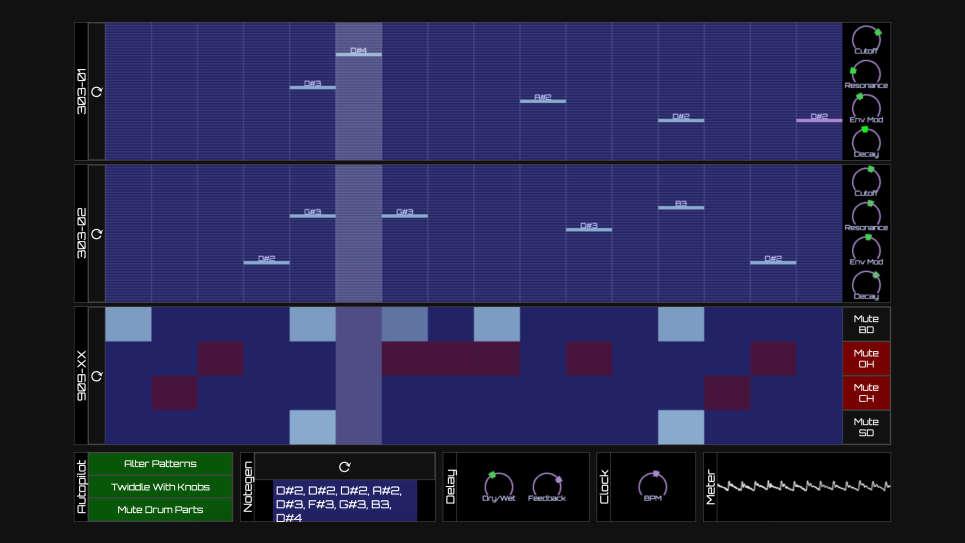 Рейв-генератор в браузере: рандомайзер от берлинского DJ