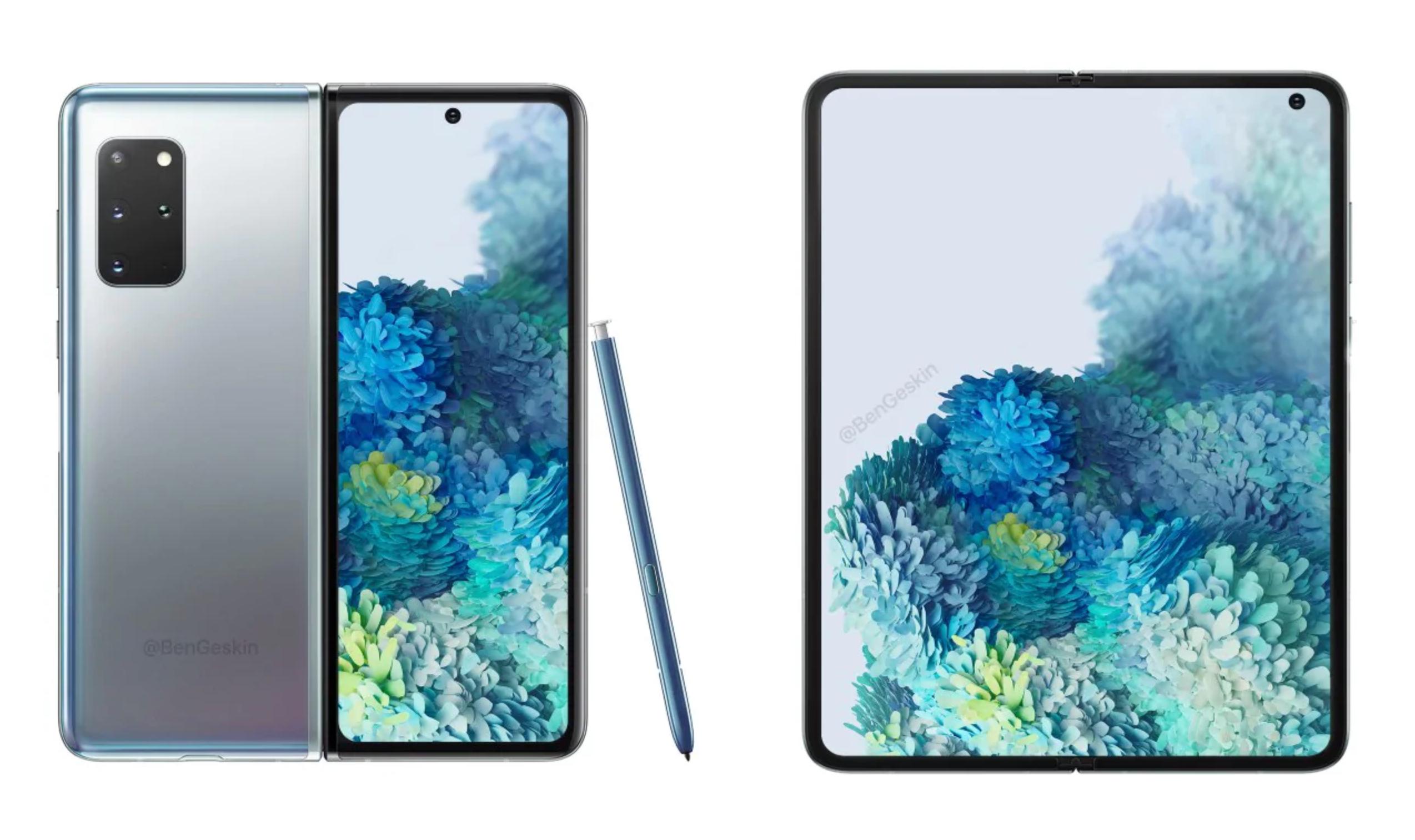 В сети появилось первое «живое» изображение складного смартфона Samsung Galaxy Z Fold 2 5G