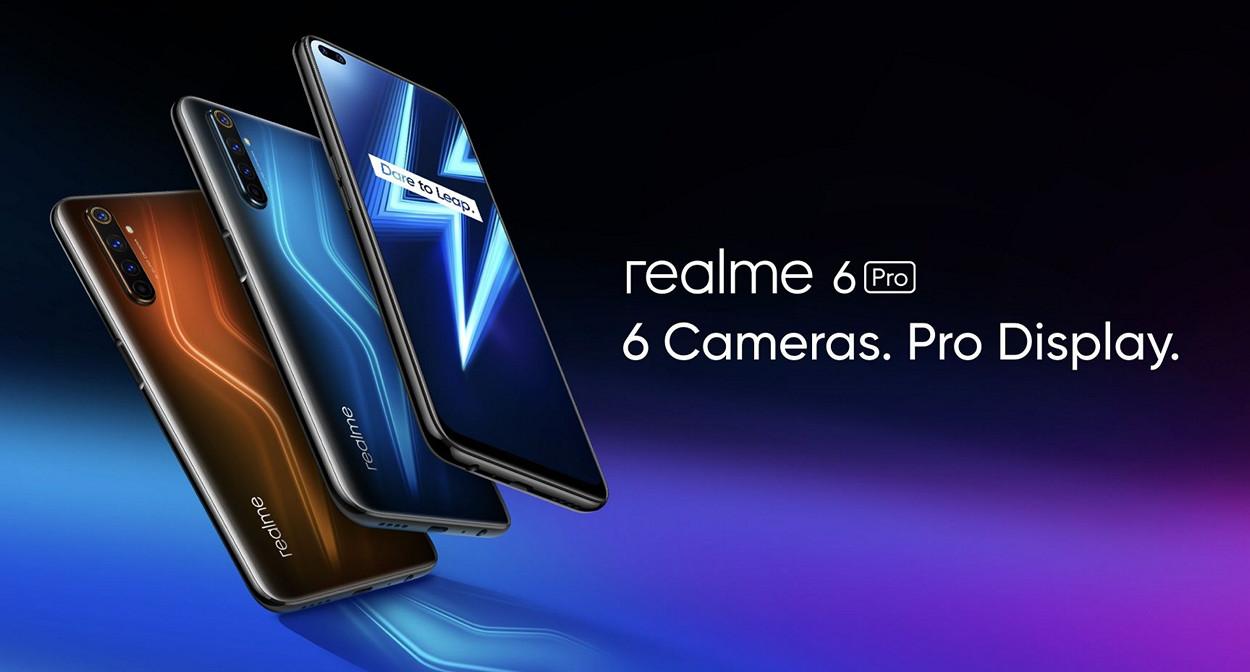 Предзаказ на Realme 6 Pro: экран 90 Гц, Snapdragon 720G, квадрокамера, NFC и наушники Realme Buds Air в подарок