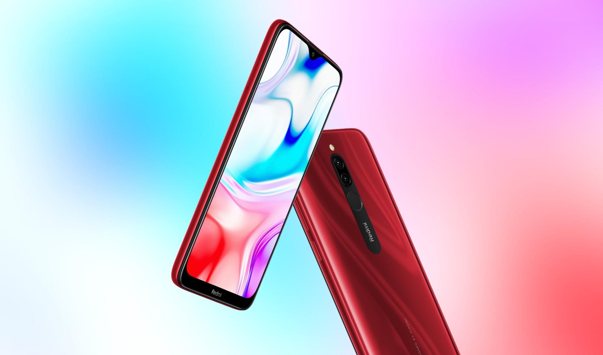 Xiaomi отчиталась о продажах смартфонов Redmi 8
