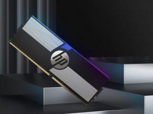 Представлена оперативная память HP V10 RGB на микросхемах Samsung B-die