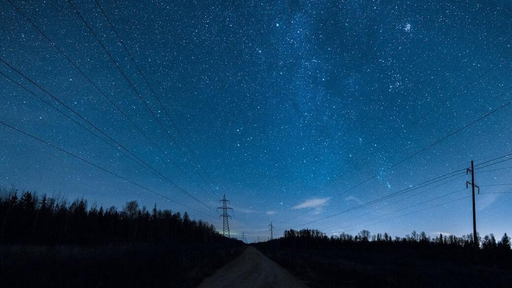 Из какого места на Земле лучше всего видно звездное небо?