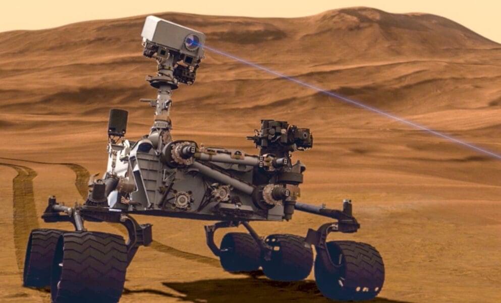 Марсоход «Кьюриосити» снова нашел след существования жизни на Марсе