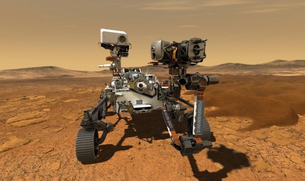Что интересного показал марсоход Perseverance в первые дни на Марсе?
