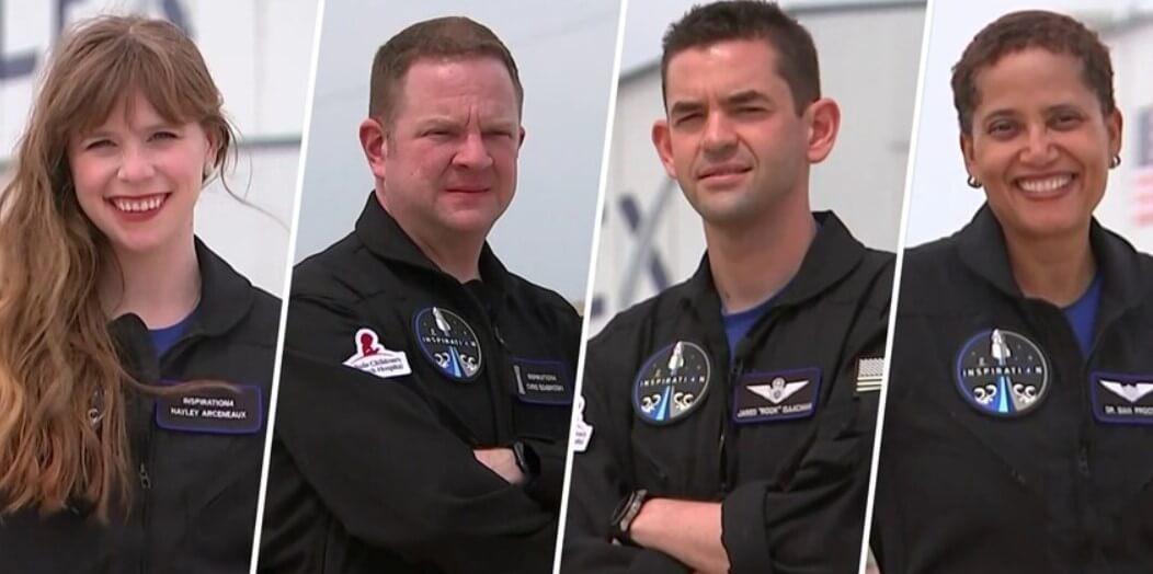 SpaceX назвала имена людей, которые первыми отправятся в космическое путешествие