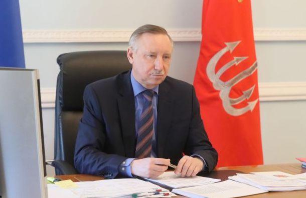 Беглов обратился за федеральной поддержкой в поставке СИЗ и ИВЛ