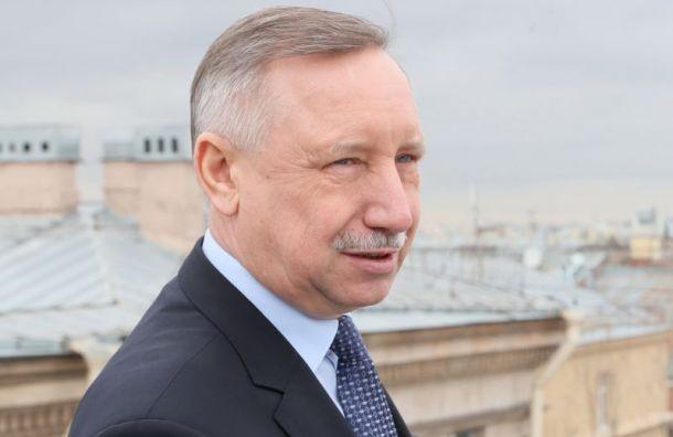 Беглов заявил о спаде заболеваемости COVID-19 в Петербурге