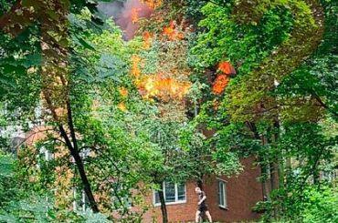 Взрыв прогремел в жилом доме на западе Москвы
