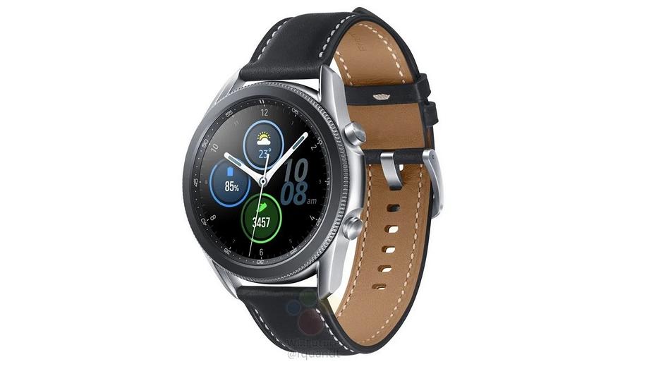 Умные часы Samsung Galaxy Watch 3 полностью рассекречены